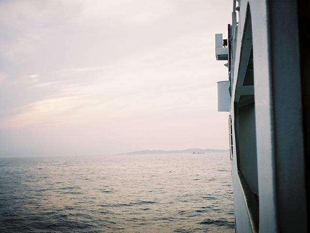 レオタード漁が行われるという壱岐島