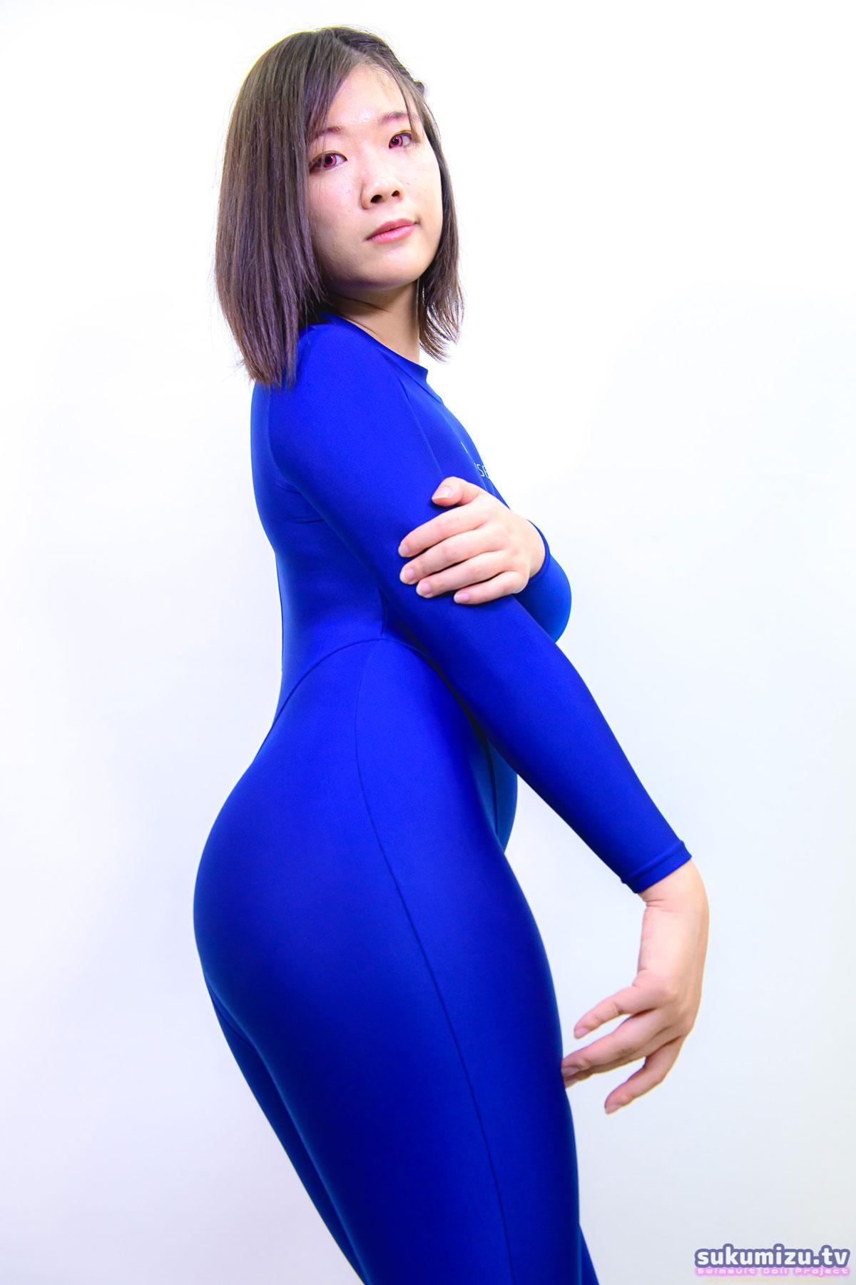 REALISE FB-1/BLUE 2wayキャットスーツ×徳岡依里南(1)