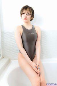 LEOHEX 競泳水着×鉄観音サワラ(1)