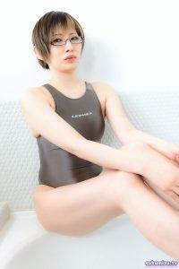 LEOHEX 競泳水着×鉄観音サワラ(2)