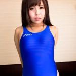 ASICS競泳水着ALS85T×紺野渚(1)