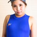 speedo競泳水着S2000×シリコンキャップ×紺野渚(1)