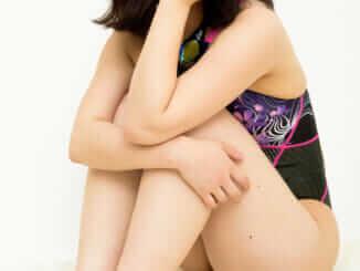 asics競泳水着AL1200×白珠まり(2)