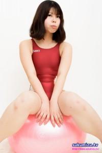 ASICS競泳水着ALS419×白珠まり(1)