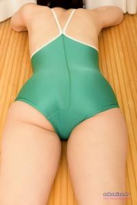 アシックスジェレンク・競泳型スクール水着・U882×九あいり(3)