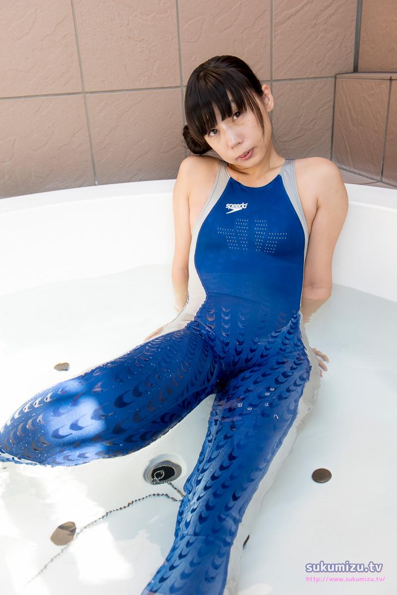 SPEEDO 型番不明・競泳水着FastSkin2 フルボディスーツ×こずにゃ(2)