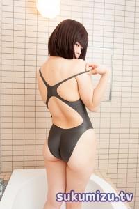 ASICS・競泳水着・ALS403・ガンメタ×白珠まり(1-2)