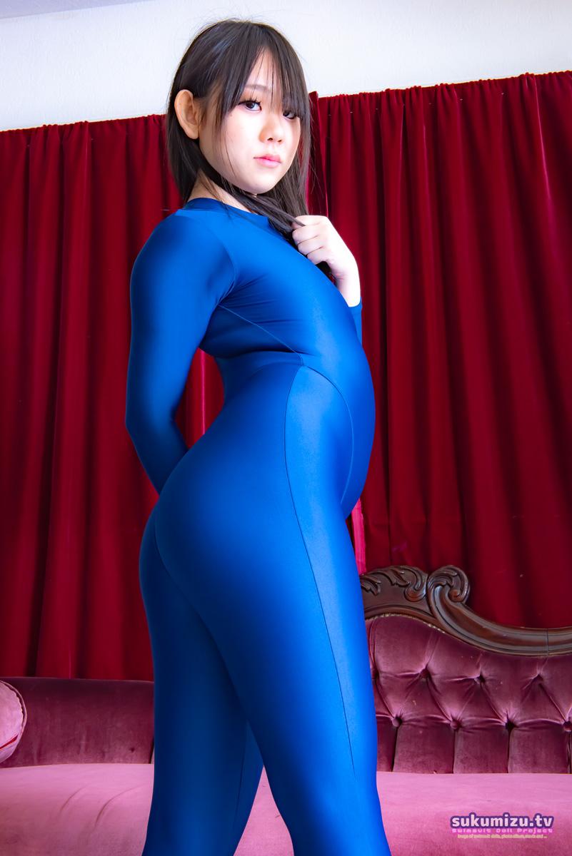 realise FB-1/BLUE 2wayキャットスーツ×芦澤こな(1)