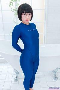 realise FB-1/BLUE 2wayキャットスーツ×無無田(1)