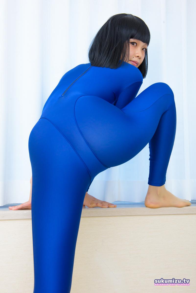 realise FB-1/BLUE 2wayキャットスーツ×中川マリナ(1)