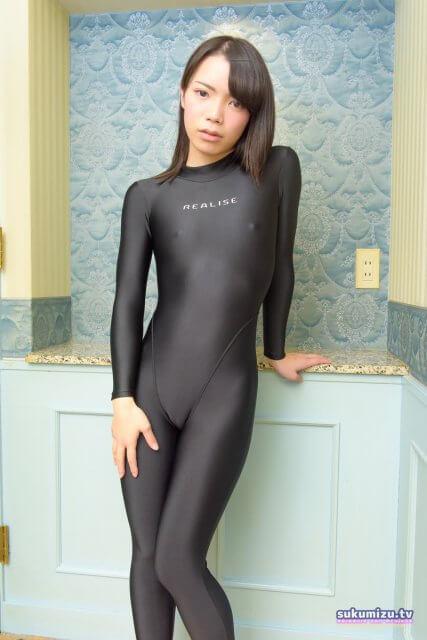 realise FB-1/Black 2wayキャットスーツ×桜沢もゆ(1)